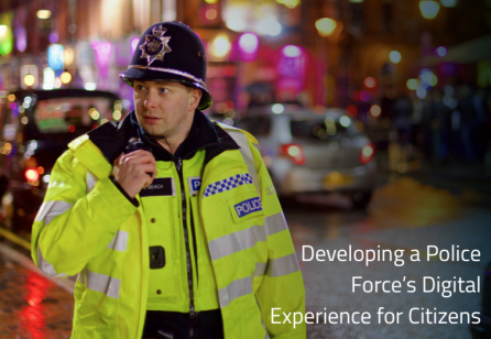 Fjord: Developing a Police Force's Digital Experience for Citizens