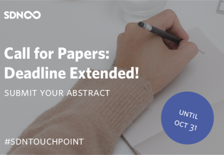 DEADLINE EXTENDED to Oct. 31 - Submit your abstract forTouchpoint Vol. 13 No. 1