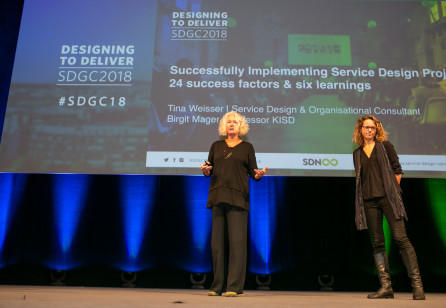 SDGC18   Birgit Mager & Tina Weisser: 24 Success Factors for Brilliant Implementation