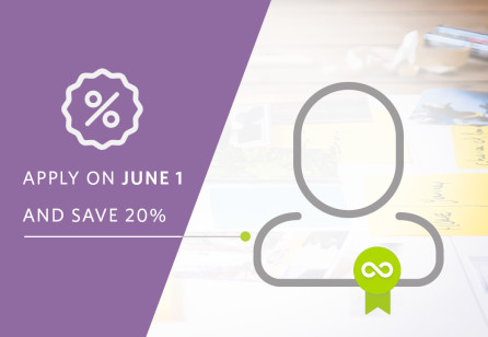 Apply for your Accreditation on Service Design Day and get 20% discount!