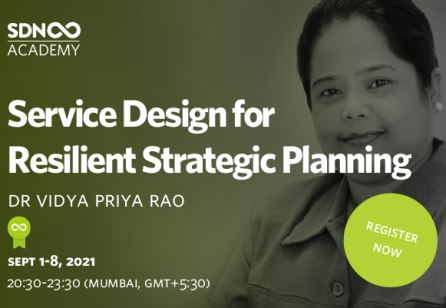 Service Design for Resilient Strategic Planning