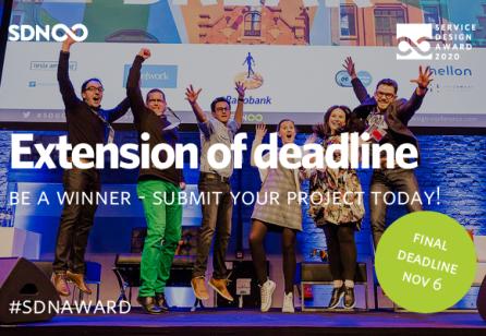 Service Design Award 2020: The final countodwn