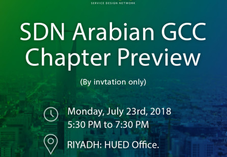 Multi-cities SDN Arabian GCC Preview Even - July 2018