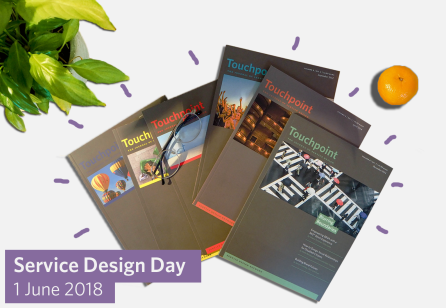 Get 50% off on Touchpoint issues  in celebration of Service Design Day!