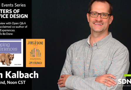 Masters of Service Design: Jim Kalbach - Live Interview and Open Q&A!