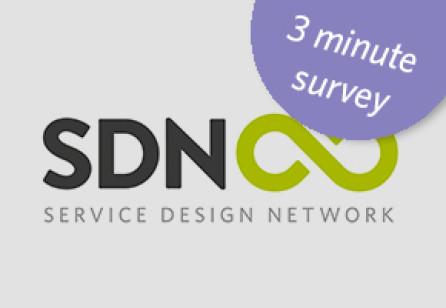 3 minute Service Design Survey
