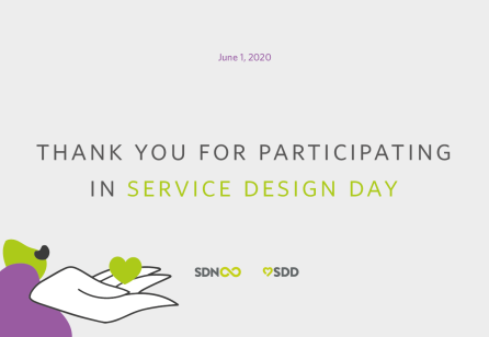 Thank You for Participating in Service Design Day