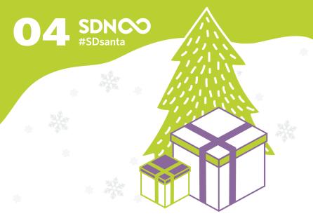 Door 4 - #SDsanta - The SDN Advent Calendar