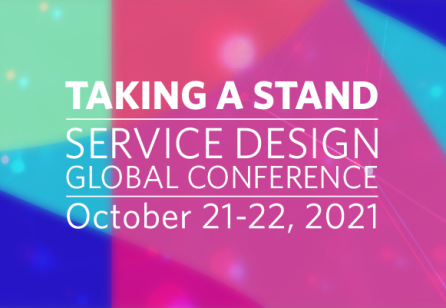 Announcing the theme for the Service Design Global Conference 2021: Taking a Stand