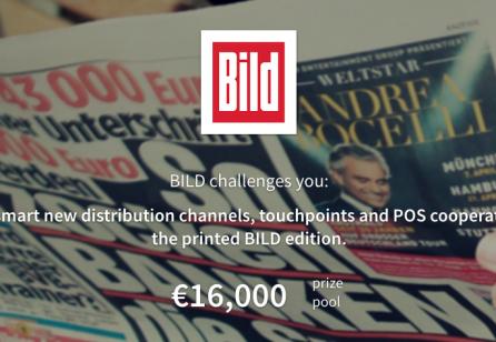 New Crowdsourcing Service Design Challenge from BILD