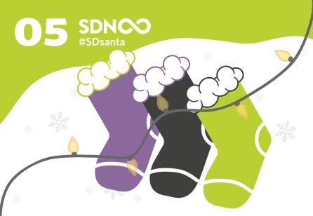 Door 5 - #SDsanta - The SDN Advent Calendar