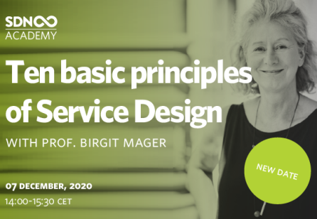 Ten Basic Principles of Service Design