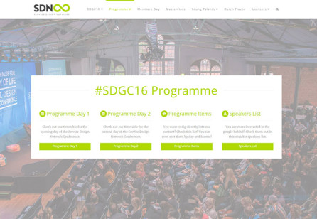 Our #SDGC16 programme is ready for you and out now!