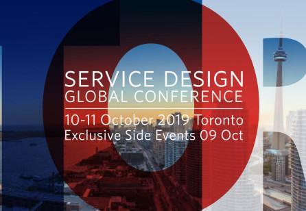 Service Design Global Conference 2019 Toronto