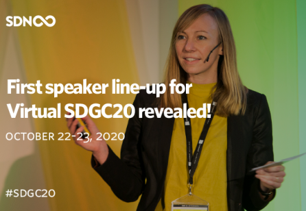 Virtual SDGC0 Speaker Line-Up Revealed