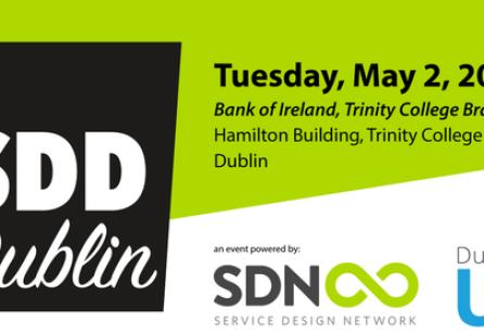 Service Design Drinks Dublin