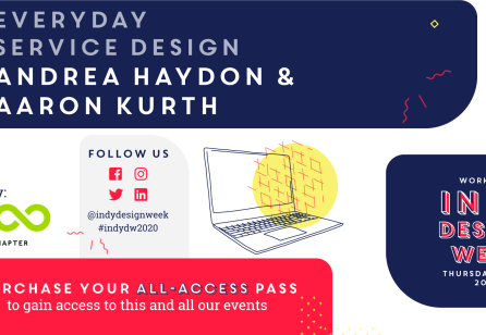 Indy Design Week 2020 | Everyday Service Design Virtual Workshop