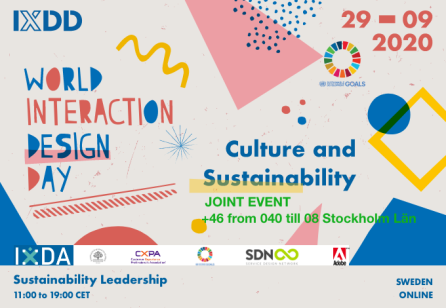 #IXDD 2020 joint online event
