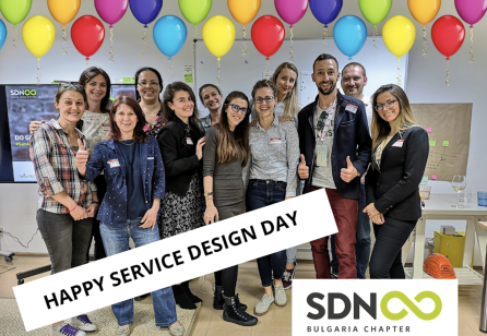 Service Design Day in Sofia