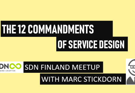 SDN MeetUp with Marc Stickdorn