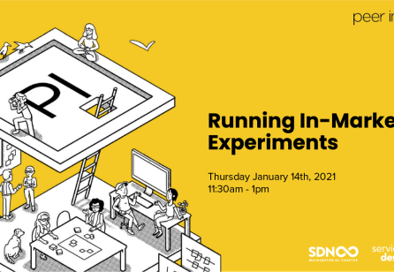 Lunch + Learn with Peer Insight: Running In-Market Experiments
