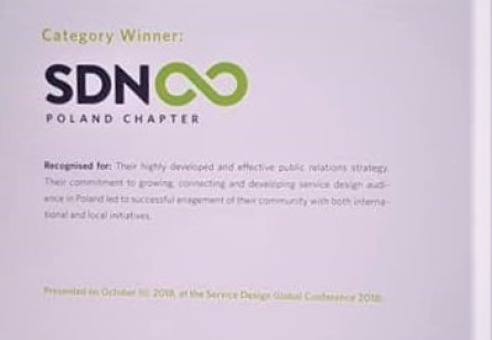 SDN Chapter Award 2018 for Best Public Relations goes to…YES!