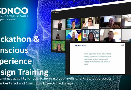 Design Hackathon & Conscious Experience Design Training