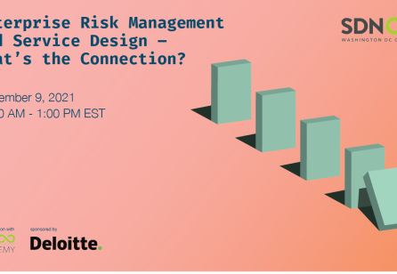 Enterprise Risk Management and Service Design – What's the Connection?
