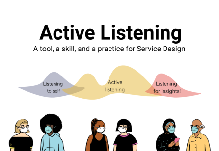 Active Listening: A Tool, a Skill, and a Practice for Service Design