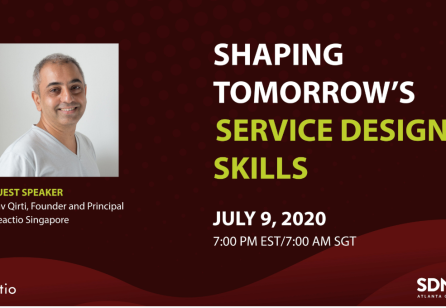 Shaping Tomorrow's Service Design Skills