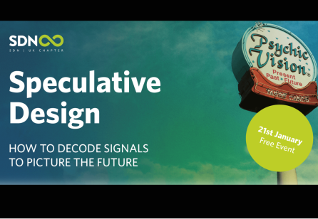 Speculative Design meets Service Design: SDN UK Meet-Up