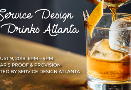 Service Design Drinks