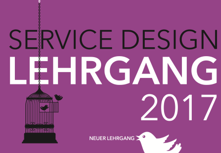 Service Design Lehrgang 2017
