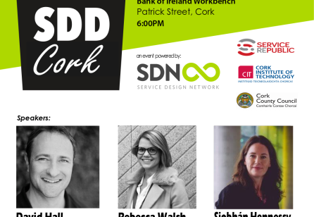 Service Design Drinks Cork #1