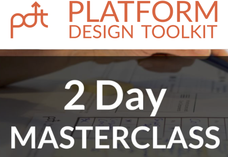 Platform Design Masterclass: 20-21 March 2018 in Amsterdam