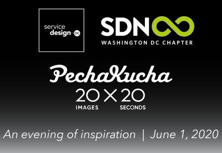 Service Design Day 2020: Pecha Kucha Night!