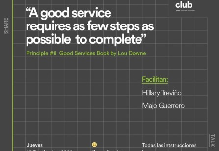 Book Club: Good Services by Lou Downe