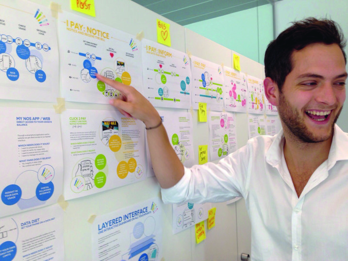 Proving the value of service design before scaling up capabilities at a Portuguese telecom provider.