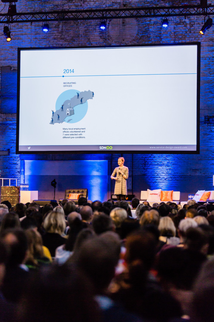 Present to over 650 professionals at the Service Design Global conference