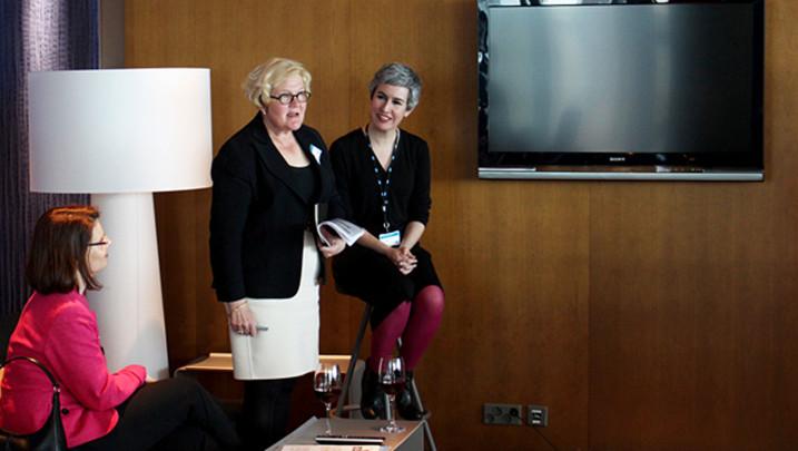 Taina Mäkijärvi and Paula Bello