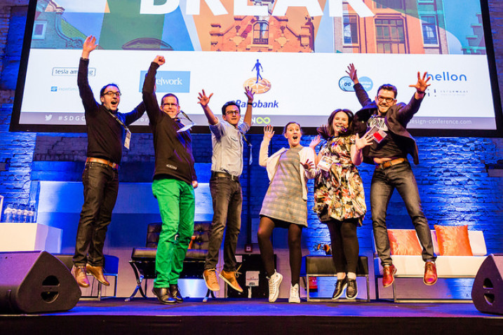 Celebrate on stage at the Service Design Global Conference and get a conference discount