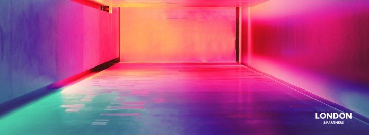 Multi-coloured Hallway, Barcelona, Spain by Efe Kurnaz (@efekurnaz) unsplashed