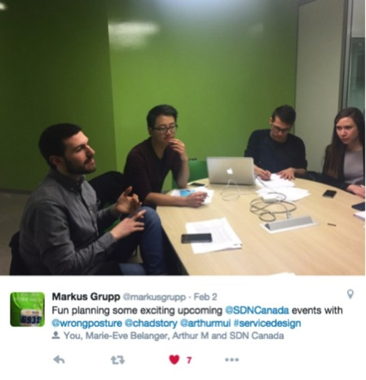 Committee Members at the first official SDN Canada Advisory Committee meeting