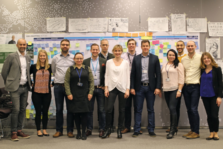The Joint Design team – a key ingredient for sustained Design Thinking and Doing in large organisations.