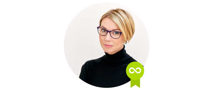 Olga Strelnyk - Accredited Trainer