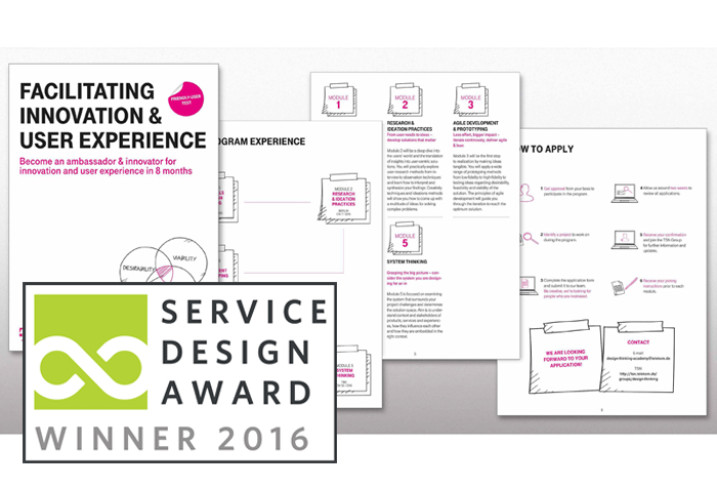 DEUTSCHE TELEKOM - 2016 WINNER FOR SYSTEMIC AND CULTURAL CHANGE IN THE PRIVATE SECTOR