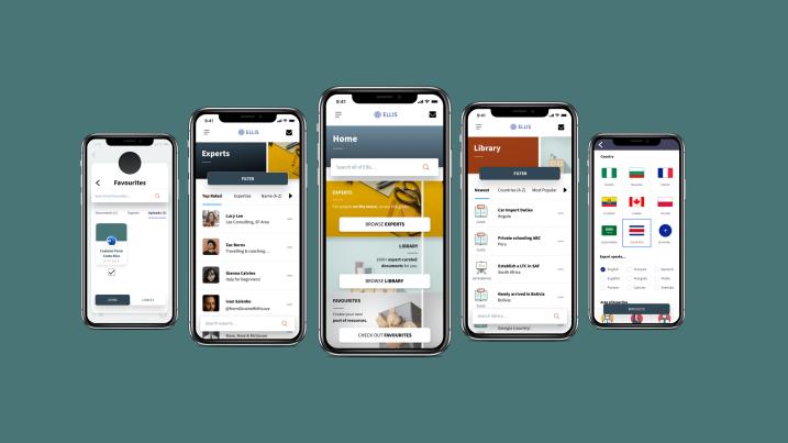 Ellis - an App for Expats