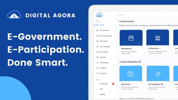Digital Agora - a complete E-Government Ecosystem